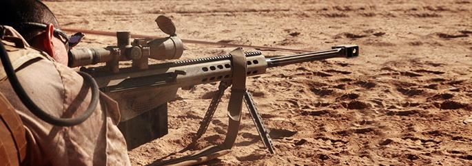Fuzil Barrett M 107 - Blog INVICTUS