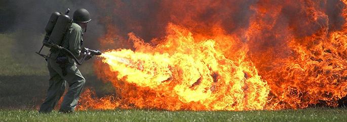 Lança-chamas - Blog INVICTUS