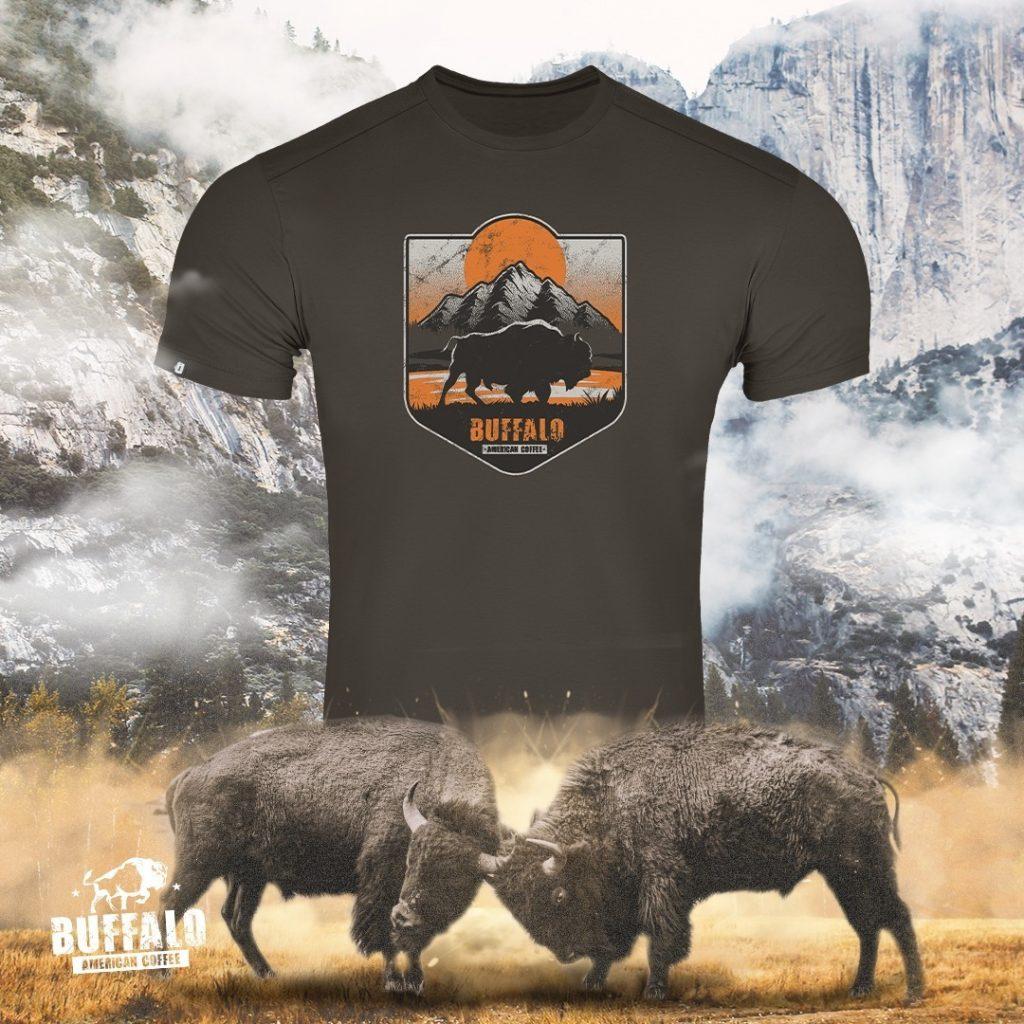 Camiseta Concept Yosemite Buffalo American Coffee