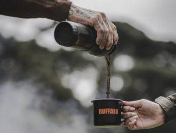 Fogueira e café