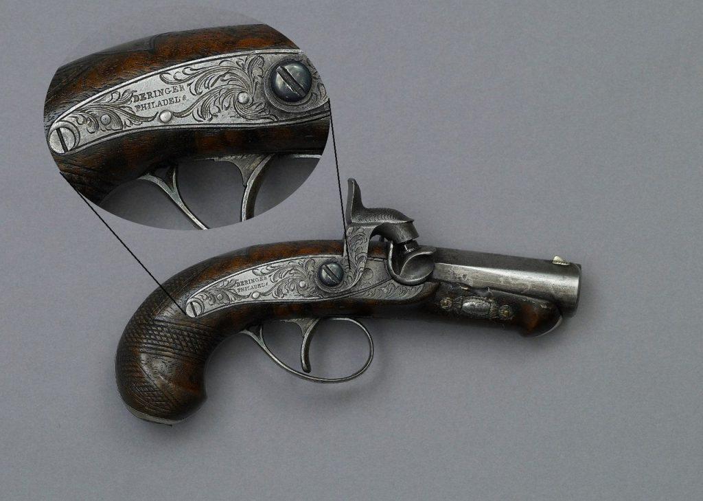 Pistola Philadelphia Deringer Calibre 44